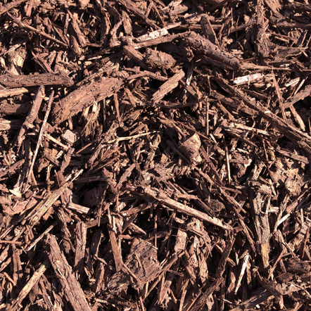 Chocolate Brown Wood chips